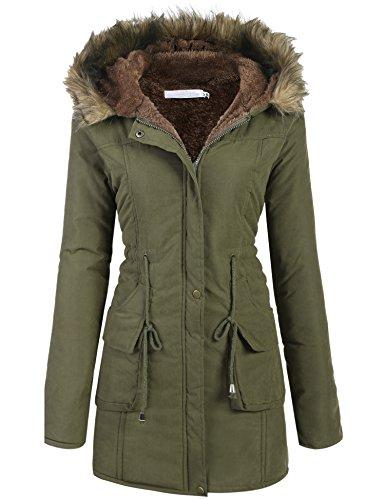 Womens Long Winter Coats - 6