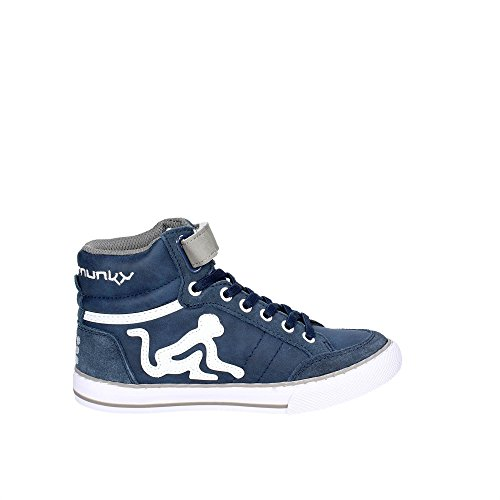 Camu Garçon Boston Bleu Hautes Baskets DrunknMunky FqUxfw547
