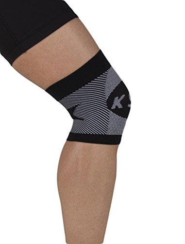 OrthoSleeve KS6 Compression Knee Sleeve Black Large