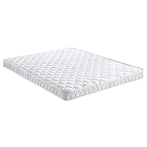 Classic Brands 4.5-Inch Innerspring Replacement Mattress for Sleeper Sofa Bed , Queen, White