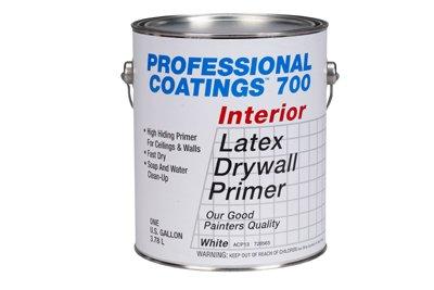 True Value Mfg ACP53-GL Professional Coatings Best Gallon White Latex Primer - Quantity 4