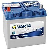 Varta Blue Dynamic D48 Batterie Voitures, 12 V 60Ah 540 Amps (En)