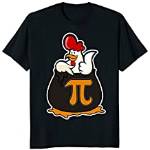 Chicken Pot Pie T-Shirt - Funny 3.14 Pi Math Joke Tee Shirt