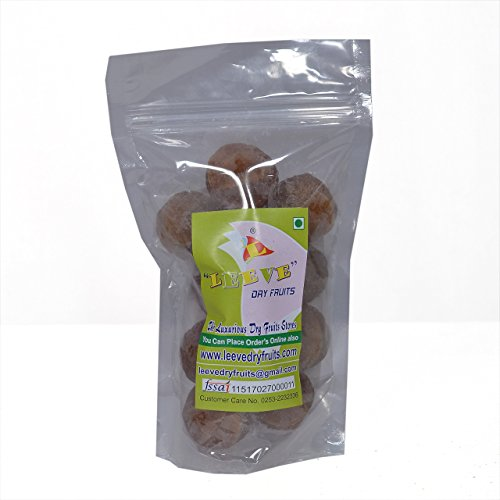 Leeve Dry Fruits Sweet Whole Amla - 400 Gms by Leeve Dry Fruits