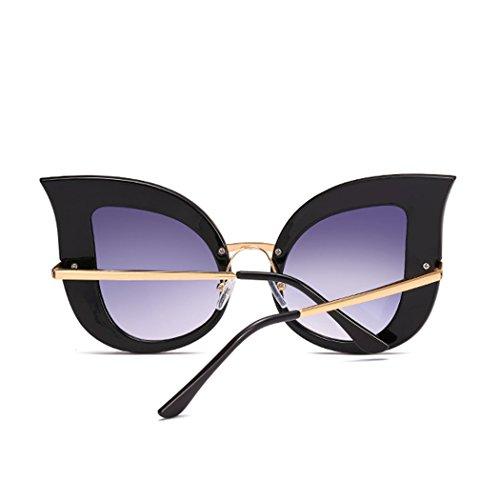 de manera ojo de gran de gato retro del polarizada diamante Sun 2018Brand del las la dise perla mujeres sol Gafas del del ador Horrenz gafas tama de de Tipo 1 o de lujo Vidrios H5xOwf