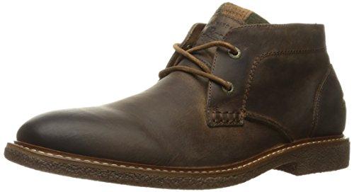 Bass Leather Boot - G.H. Bass & Co. Men's Bennett Chukka Boot, Brown, 10.5 M US