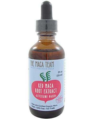 Red Maca Liquid Extract - Fair Trade, GMO Free, Alcohol Free, Vegan - Made From Organic Red Maca Roots Grown Traditionally in Peru – 2 Fl Oz - 59 Ml - Suitable for Everyone
