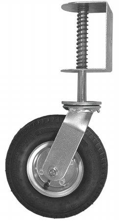 Shepherd 9798 8'' Spring Loaded Pneumatic Wheel Gate Caster by Shepherd Hardware