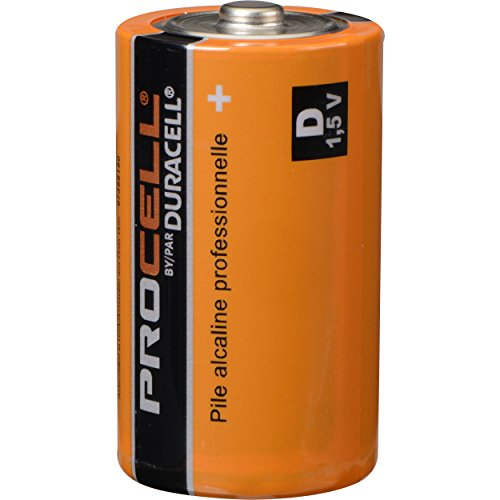 Duracell Products - Procell D Cell Battery, Alkaline, 12/BX - Sold as 1 BX - Procell D batteries are designed for use in flashlights and radios. Delivers dependable, long-lasting power with up to a seven-year freshness guarantee. Operates reliably in temp by Duracell