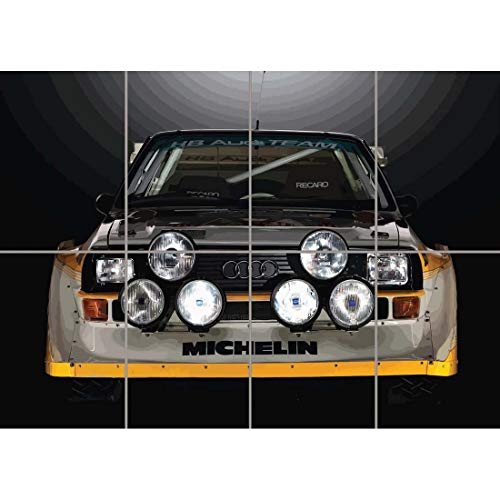 Doppelganger33LTD AUDI SPORT QUATTRO S1 RALLY CAR GIANT WALL ART PRINT PICTURE POSTER G1221