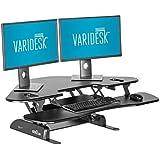 VARIDESK - Height-Adjustable Standing Desk for Cubicles - Cube Corner 48