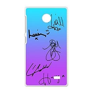 SANYISAN one direction signatures Phone Case for Nokia Lumia X Case