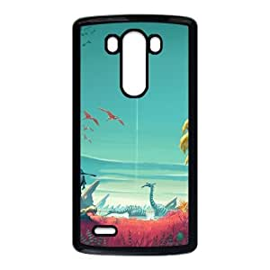 No Man's Sky LG G3 Cell Phone Case Black Gift xxy_9920708