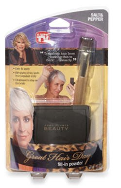 Joan Rivers Beauty Great Hair Day Fill in Powder- Salt and Pepper