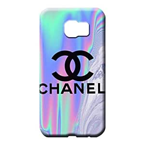 samsung galaxy s6 Highquality Fashion New Fashion Cases mobile phone back case Chanel famous top?brand logo