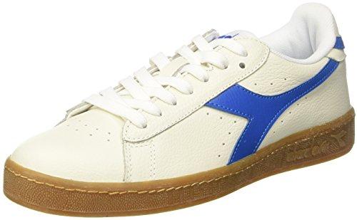 Jeu L Faible Chaussures De Gymnastique Hommes Diadora, Bianco Blanc Cassé (blu Bianco Imperiale)