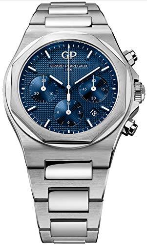 Girard-Perregaux-Laureato-Chronograph-Blue-Dial-42mm-Mens-Watch-81020-11-431-11A