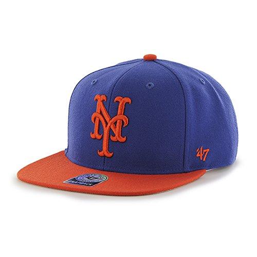 a58ad7ee58d06  47 MLB New York Mets Sure Shot 2 Tone Captain - Gorra de béisbol Unisex.
