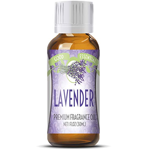 (Lavender Scented Oil by Good Essential (Huge 1oz Bottle - Premium Grade Fragrance Oil) - Perfect for Aromatherapy, Soaps, Candles, Slime, Lotions, and)