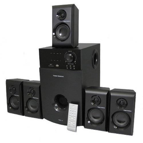 Theater Solutions TS514 5.1 Surround Sound Home Entertainment System by Theater Solutions