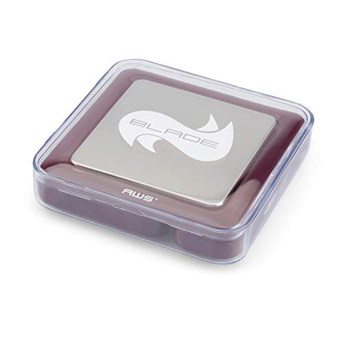 Pro 5th Scale - American Weigh Scales BL-100-BUR Burgundy Blade Digital Pocket Scale, 100 by 0.01 G