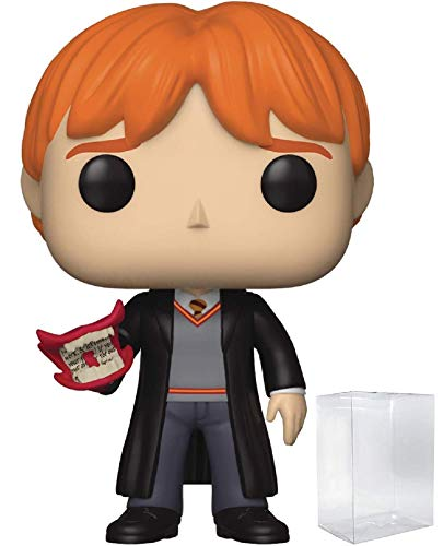(HARRY POTTER - Ron Weasley with Howler Funko Pop! Vinyl Figure (Includes Compatible Pop Box Protector Case))