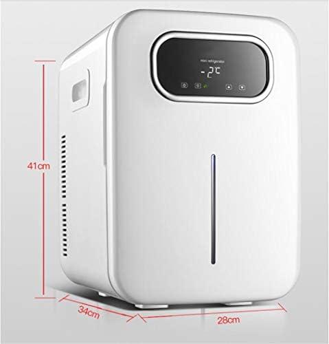 カー冷蔵庫、クーラー冷凍庫アイスボックス12Vポータブルミニホワイトカー冷蔵庫220V家庭用電子冷凍庫インテリジェントクールダウンカー冷蔵庫 B