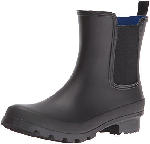 Nine West Women's Xia Patent Boot, Black, 10 M US (Nine West Boots Rubber)