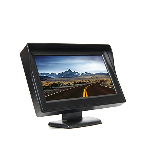 Rear View Safety Wireless Backup Camera System with Built-In Sensors,
