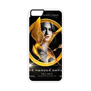 The Hunger Games Glimmer iPhone 6 Plus 5.5 Inch Cell Phone Case White phone component RT_360638
