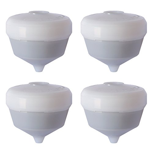 Siroflex 2800/4S Replacement Cartridges uni3 a, White, Set of 4 Pieces