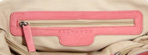 Belmondo Borsa a spalla 309405MO, Turchese (Turquoise - Türkis (turchese)), 43x33x16 cm (B x H x T) Rosa (Rose - Pink (Pink))