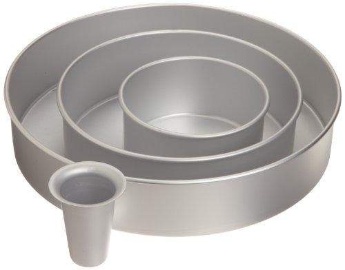 Wilton 2105-6150 Decorator Preferred Round Cake Pan Set (Decorator Set)