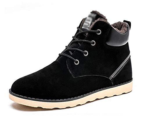 D'hiver Eu Fuxitoggo Pour Noir De Hommes Chaussures Neige Chaudes coloré Taille 47 Surdimensionnées Bottes 40 Occasionnel Épaississement 7rUzw75q