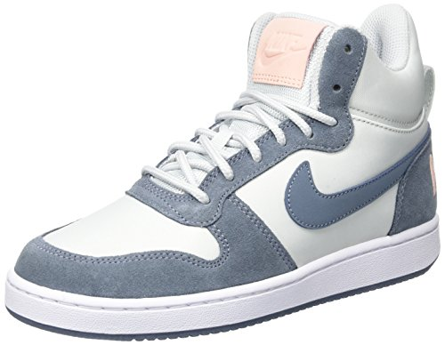 Mid pure armory Platinum Court Donna Nike W Tint Prem Scarpe Borough Blue white Ginnastica Bianco Da sunset 4vwtTq