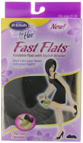 Dr. Scholl's Fast Flats, fits sizes 9-10]()