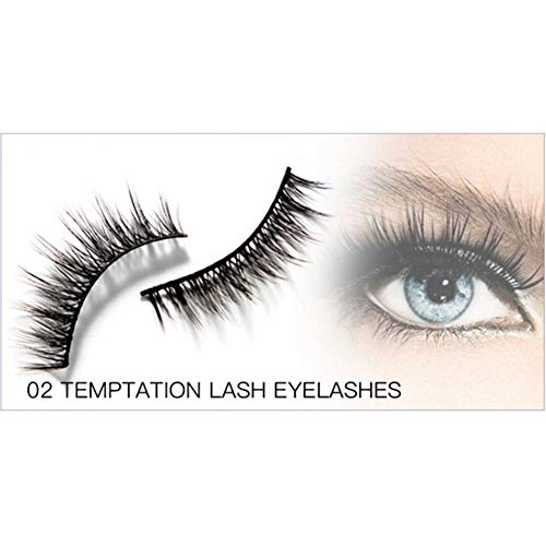 53a4f6dad38 Yiwa Mascara Women Makeup 4D Mascara + Long Roll up False Eyelash + False  Eyelash Glue