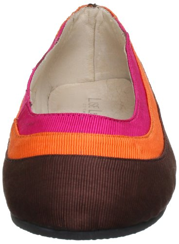 131 Dee 216 Orange 45 Pink mehrfarbig Multicolore Lise brown 45 Donna Ballerine Lindvig wfEng