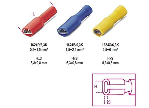 Beta Tools 1624 R/6,3K-Terminais Isolados Clipe BT016240102
