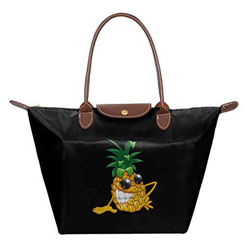 OUDE Funny Pineapple Fashion Ladies Folding Dumpling - Outlet Malls Chicago Best Near