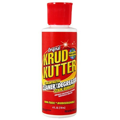 Krud Kutter KK04 Concentrated Cleaner/Degreaser Stain Remover with 4-Ounce Flip - Concentrated Degreaser