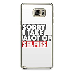 Selfie Samsung Note 5 Transparent Edge Case - Let me take a selfie