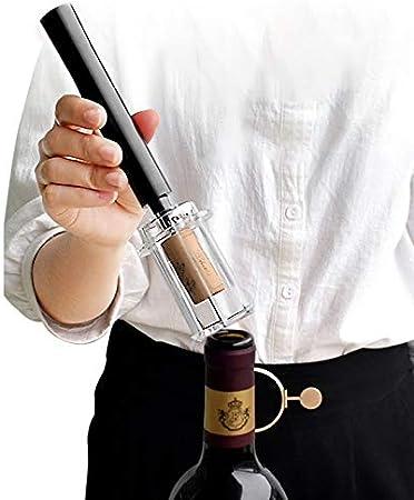 Sacacorchos Tipo De Presión De Aire Abrebotellas De Vino Tipo De Pasador De Acero Inoxidable Bombas De Botella Sacacorchos Herramienta De Corcho Abridor De Vino Tinto