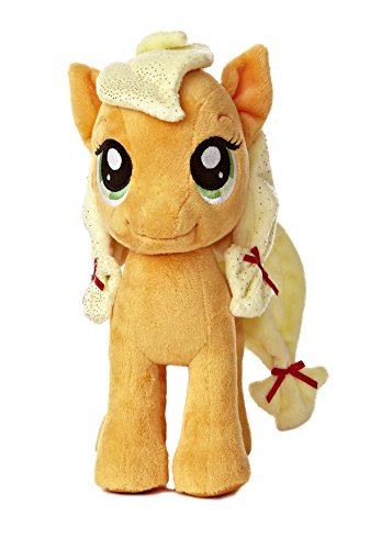 Aurora World My Little Pony Applejack Pony Plush, - Little Apple Pony