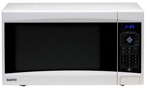 Sanyo EM-S5120W - Microondas (1000 W, Tocar, Plata, 21 x 12 ...