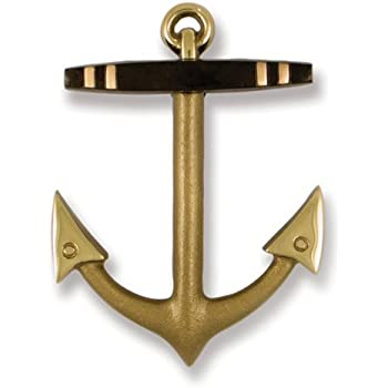 Merveilleux Anchor Door Knocker   Brass/Bronze (Premium Size)