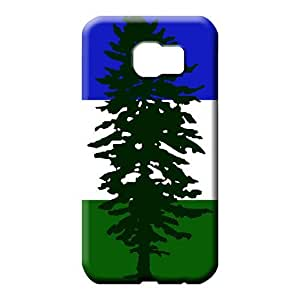 samsung galaxy s6 edge case Fashion Scratch-proof Protection Cases Covers mobile phone covers cascadia flag (us canada)