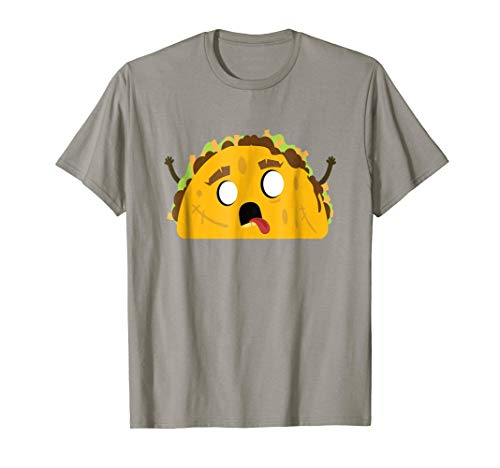 Halloween Zombie Taco Mexican Food Shirt