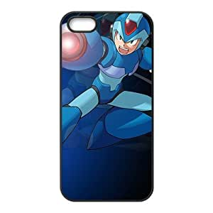 Blue cool Rockman Cell Phone Case for iPhone 5S