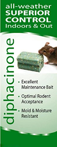 8 Lbs Rat Mouse Rodent Bait Blocks Rat Mouse Poison Bait Rat Mouse Killer Blox Not For Sale To: CALIFORNIA by Ditrac